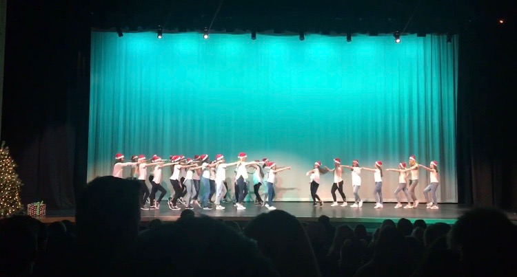 Dance 3 performs