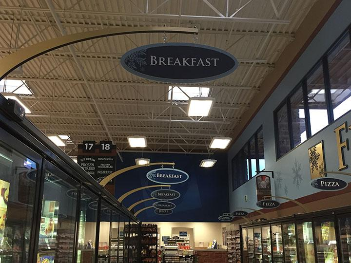 Photo of the frozen breakfast isle at Harmons Bangerter Crossing on 1/9/16.