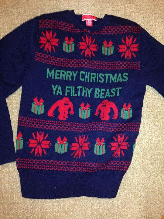 Merry Christmas, wear these Christmas sweaters to have fun and get in the Christmas spirit.