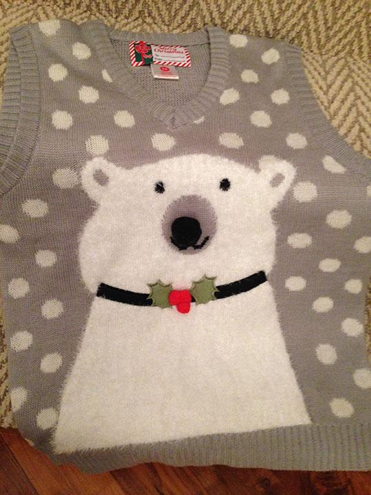 Winter is a great time to wear Christmas sweaters to stay warm or to get in the Christmas spirit