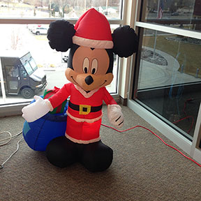 Twas december 15, 2016, and all through the middle school, not a creature was creeping, not even a mickey mouse.