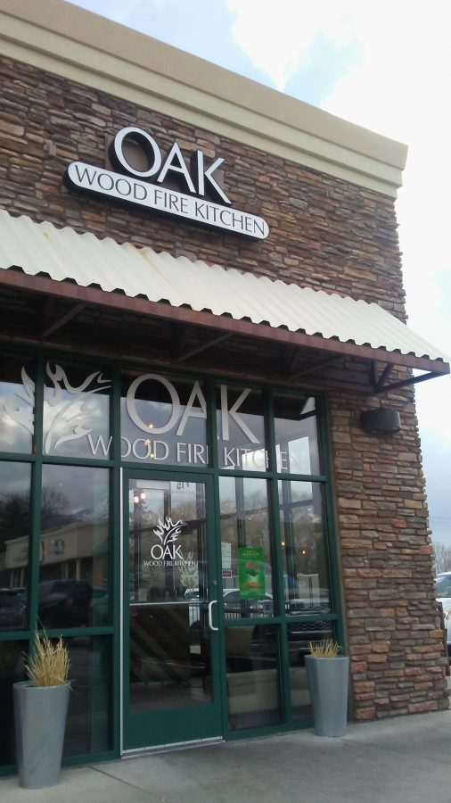 Oak wood fire kitchen, famous for there brick oven fired pizza.