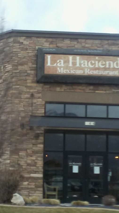 La Hacienda Mexican restaurant.