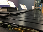 The school's marimba taken from a different perspective. Photo taken of 2/15.