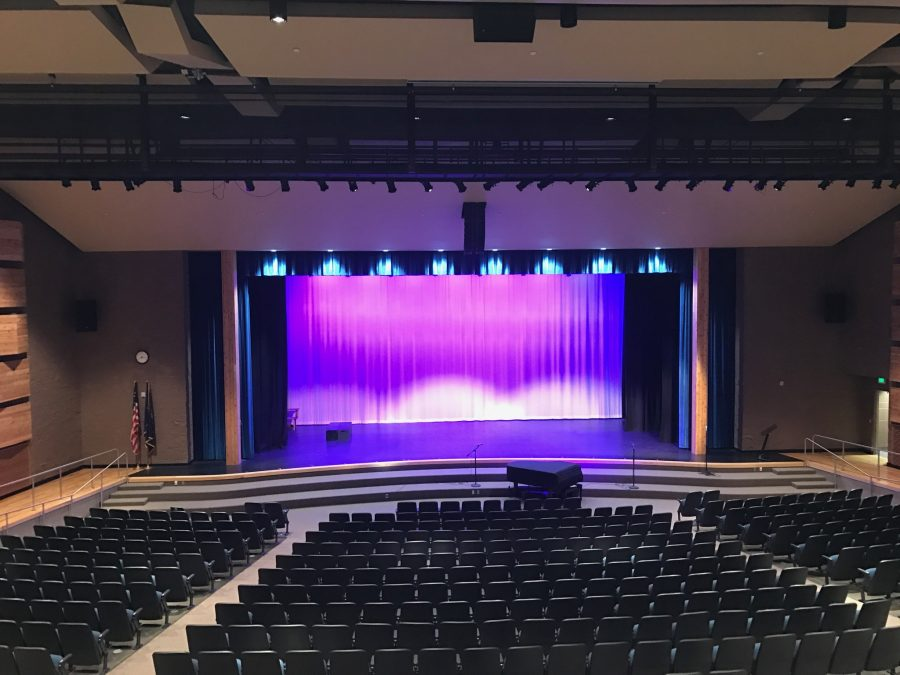 February 21, 2017 The place where all the magic happens- the auditorium of Draper Park Middle School