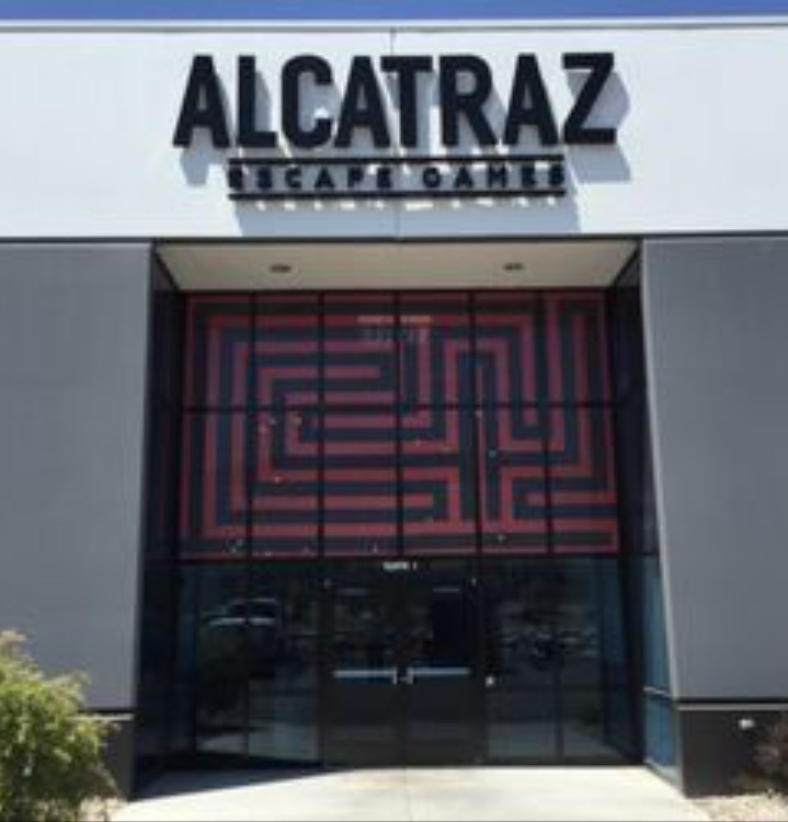 Alcatraz Escape Games in Draper Utah.  Febuary 15, 2017.