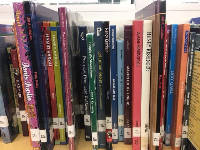 This is some of the books you can read in the library.