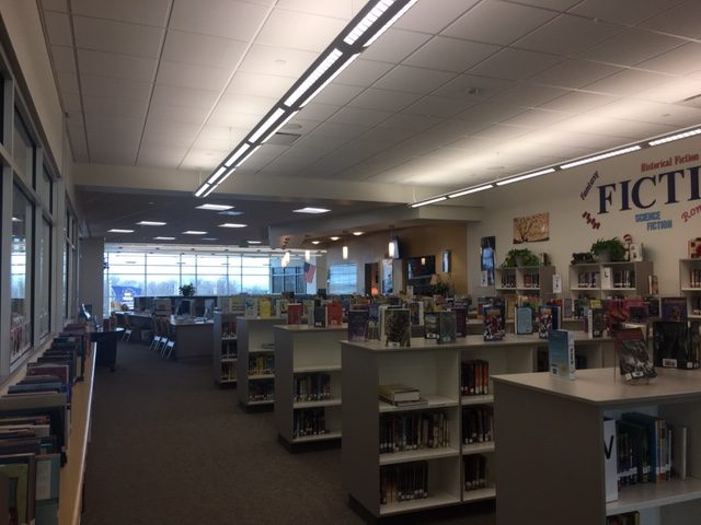 This is a simple picture of what the library looks like.