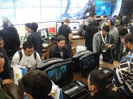 Where: Microsoft store Who:Gamers  What: having a game tournament Date: 2/9/17