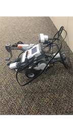 This is a robot we use in the space race