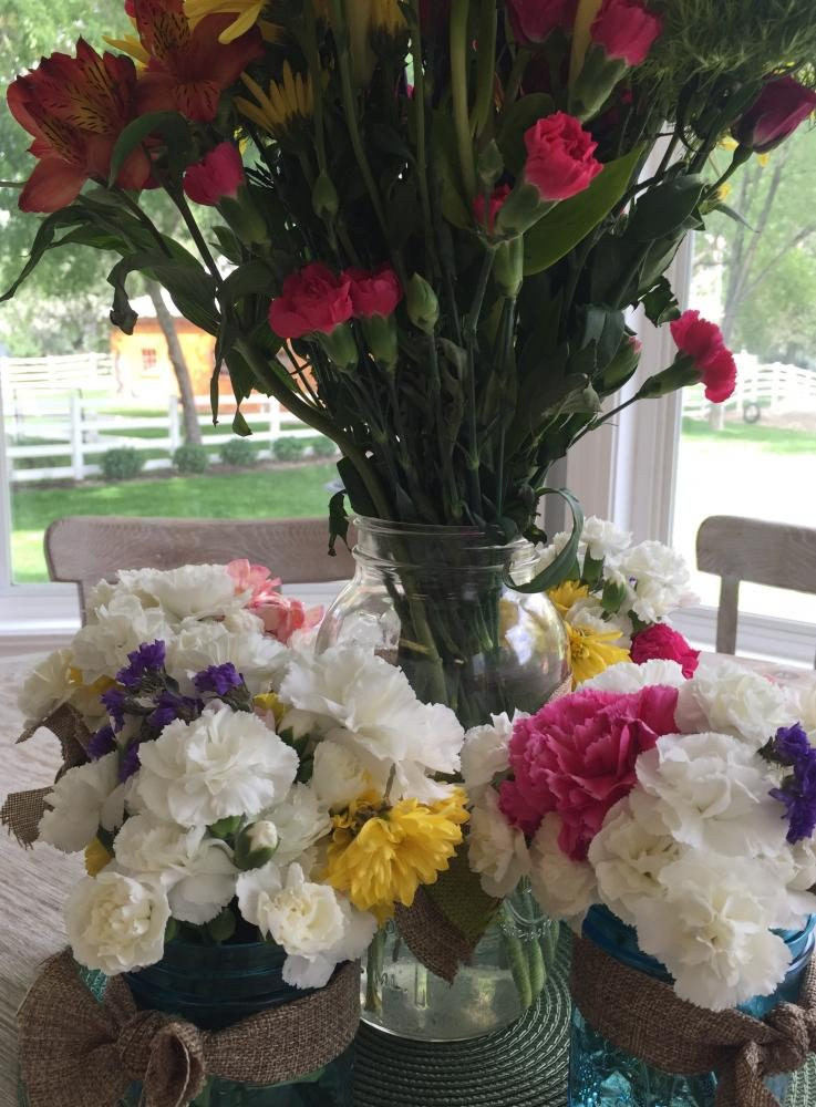 A lot of beautiful, colorful flowers used to make Spring time better.