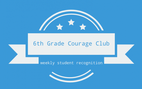 6th Grade  Courage Club